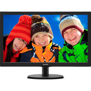 "Philips 223V5LSB V-line 21.5"" LED LCD Monitor - 16:9 - 5 ms"