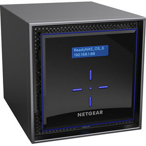 NETGEAR RN424E6-100NES ReadyNAS 424, Desktop 4-bay, 4x6TB Enterprise HDD