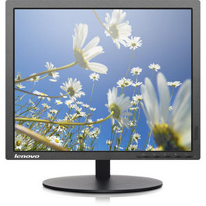"""Lenovo 60FELAR1US ThinkVision T1714p 17"""" SXGA LED LCD Monitor - 5:4 - Raven Black"""