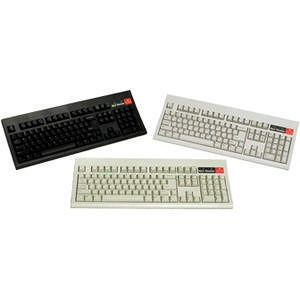 KeyTronic CLASSIC-P1 104 Key PS/2 Wired Keyboard - Beige