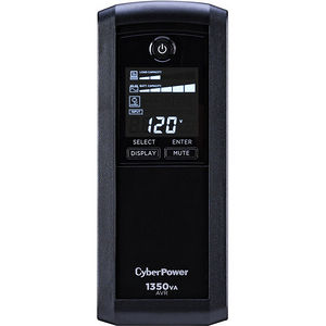 CyberPower CP1350AVRLCD Intelligent LCD 1350 VA Tower UPS