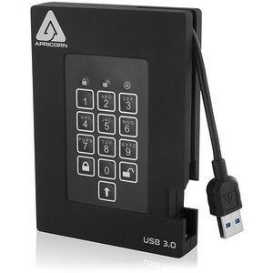 Apricorn A25-3PL256-500F Aegis Padlock 500 GB External Hard Drive
