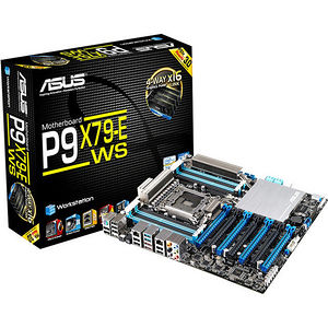 ASUS P9X79-E WS Workstation Motherboard - Intel Chipset - Socket R LGA-2011