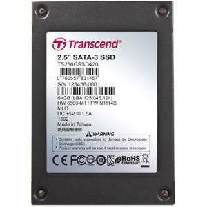 """Transcend TS64GSSD420I 64 GB Solid State Drive - SATA (SATA/600) - 2.5"""" Drive - Internal"""