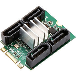 SYBA SD-ADA40118 M.2 to 4-port SATA III Adapter