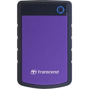 """Transcend TS2TSJ25H3P StoreJet 25H3P 2 TB Hard Drive - SATA - 2.5"""" Drive - External - Portable"""