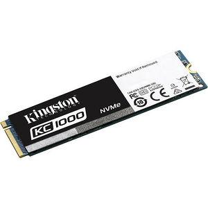 Kingston SKC1000/480G 480 GB Solid State Drive - PCI Express 3.0 x4 - Internal - M.2 2280
