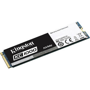 Kingston SKC1000/240G 240 GB Solid State Drive - PCI Express 3.0 x4 - Internal - M.2 2280