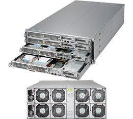 Supermicro SYS-F618H6-FTPT+ Barebone System - 4U - 4x Node - C612 Chipset - LGA-2011 - 2x CPU